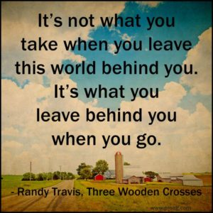 Randy Travis Quote | Drager Farms, Marietta PA