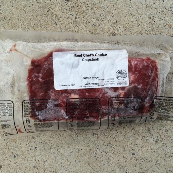 Beef Chipsteak | Drager Farms, Marietta PA