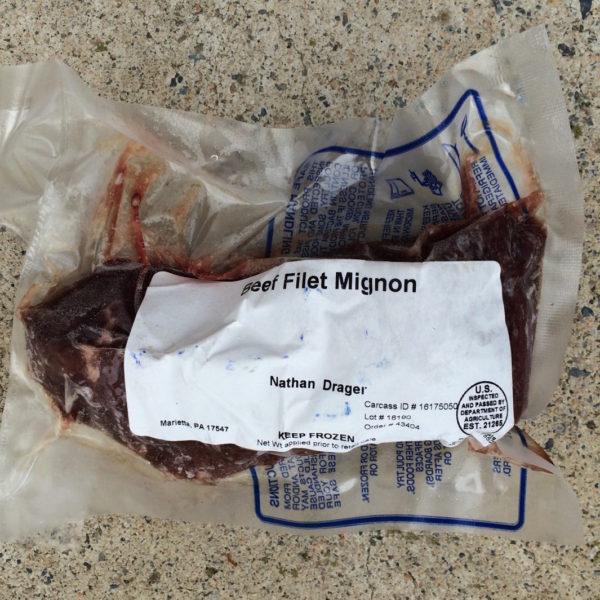 Filet Mignon | Drager Farms, Marietta PA
