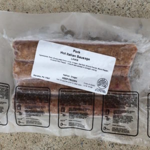 Hot Italian Pork Sausage | Drager Farms, Marietta PA
